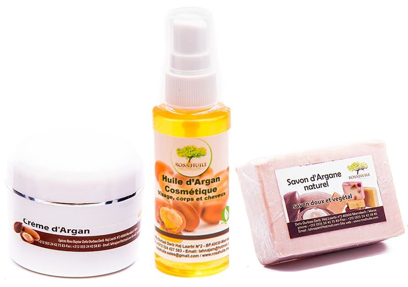 The best organic products based on argan